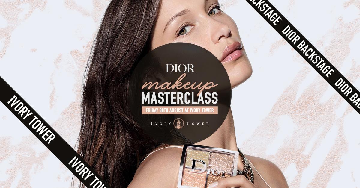 Dior Makeup Masterclass - Ivory Tower Preston